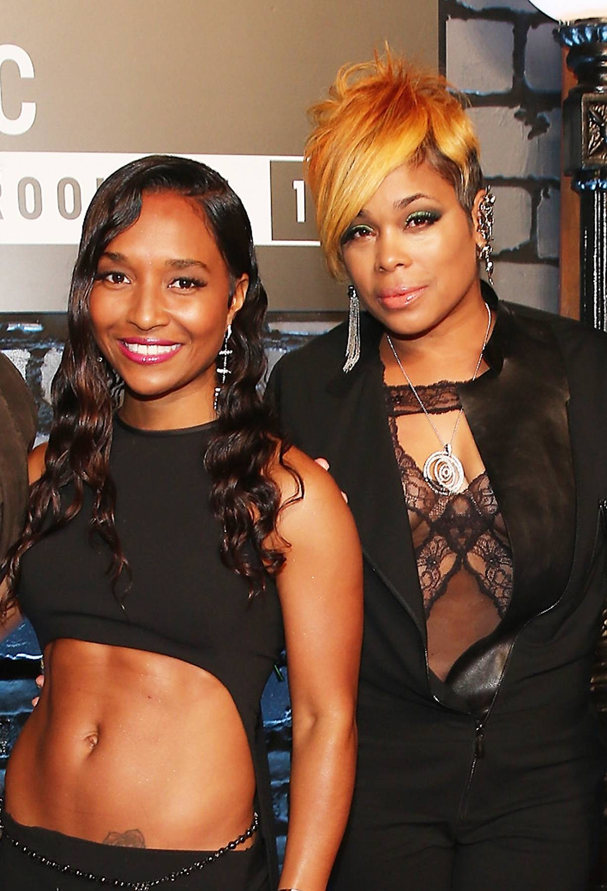 """TLC Is Back! - For the first time since 1999, TLC has entered the top 10 on the Billboard Charts on J. Cole's """"Crooked Smile."""" Besides having their biopic debut next month, we hope that TLC gives us all new music soon because R&B's been missing them!  (Photo: Neilson Barnard/Getty Images for MTV)"""