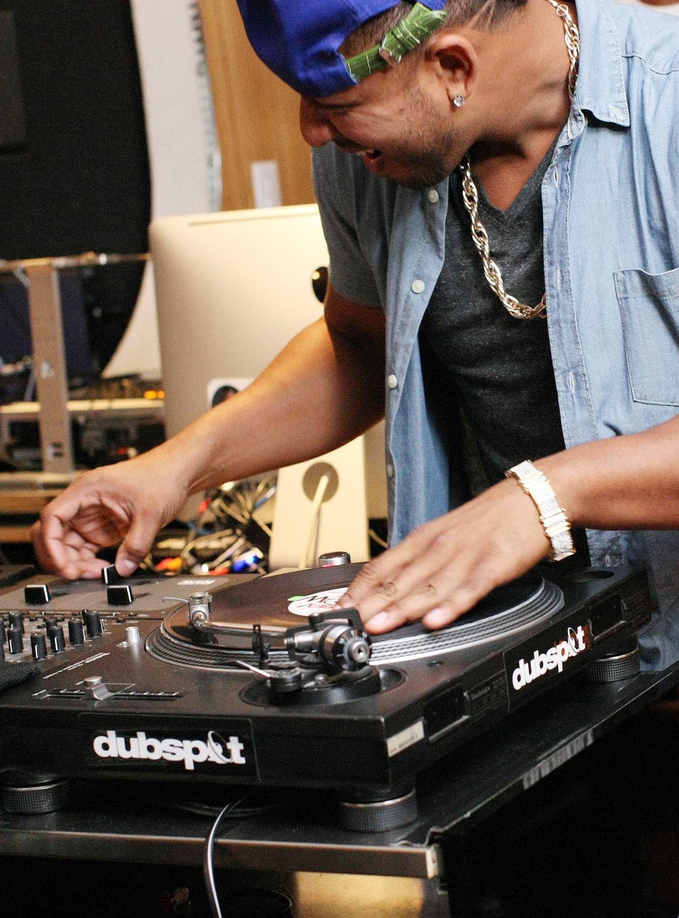 Skills - DJ Babey Drew showing how it's done. (Photo: Bennett Raglin/BET/Getty Images for BET)