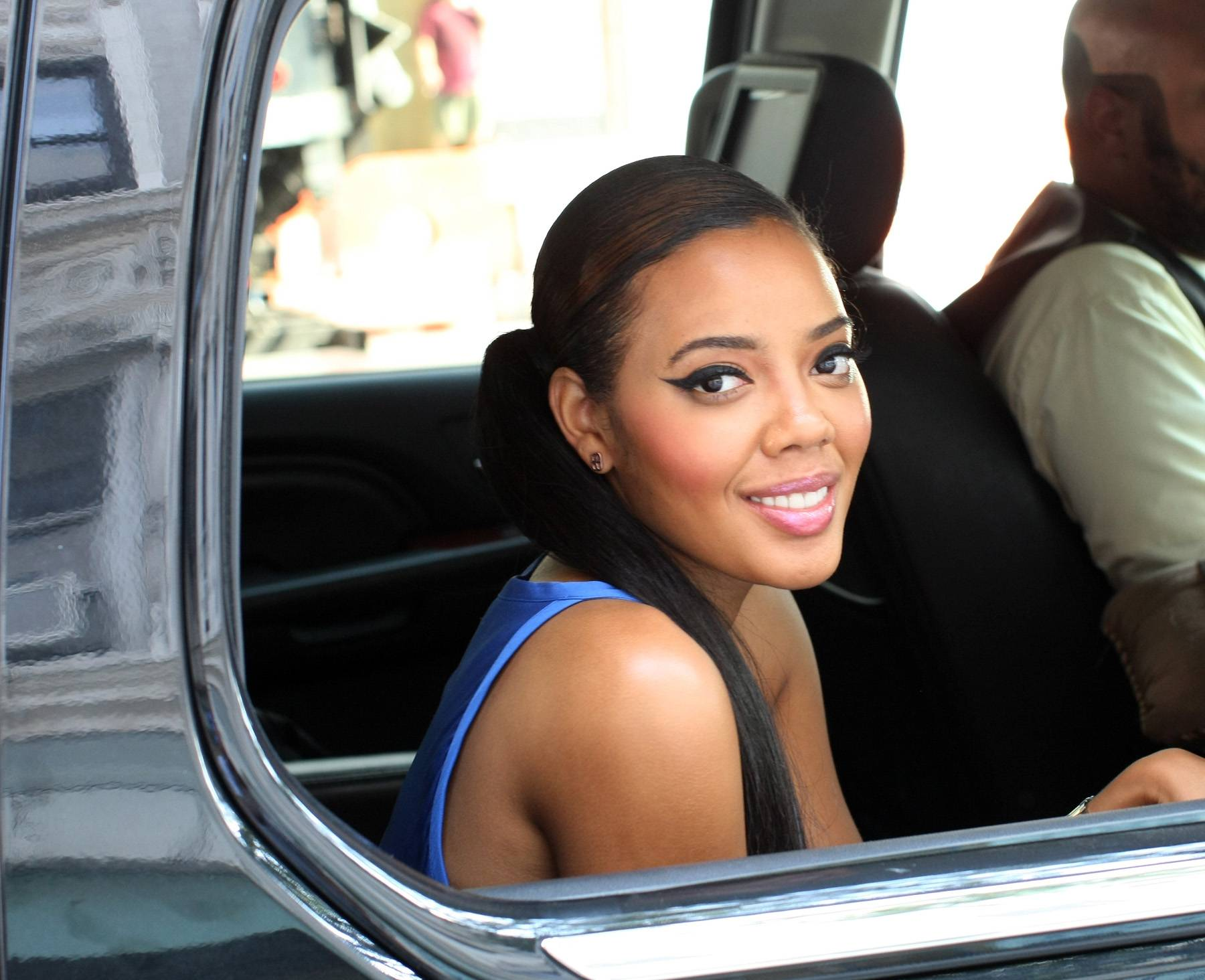 Fresh Face - Host Angela Simmons is bright eyed and bushy-tailed. (Photo: Bennett Raglin/BET/Getty Images for BET)