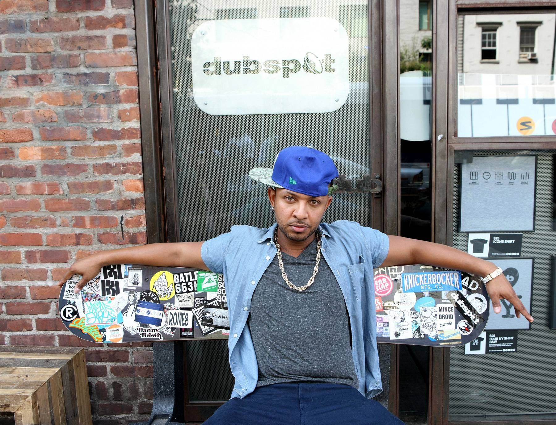Just Drew - DJ Babey Drew poses like a king during some down time.(Photo: Bennett Raglin/BET/Getty Images for BET)