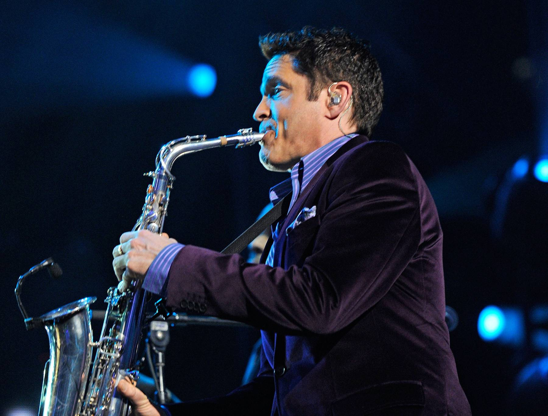 """Best Contemporary Jazz Performance:Dave Koz ? """"Got To Get You Into My Life"""" - Regarded as a premiere smooth jazz saxophonist, Dave Koz teamed up with the legendary Earth, Wind & Fire for this horn-heavy single off his album Dave Koz & Friends ? Summer Horns.   (Photo: Ethan Miller/Getty Images for Keep Memory Alive)"""