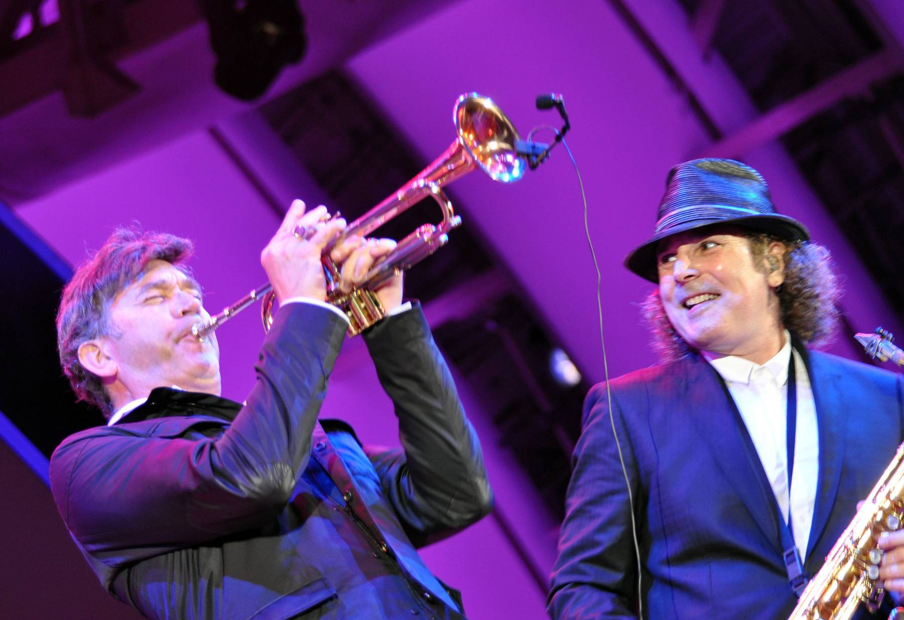 """Best Contemporary Jazz Performance: Boney James feat. Rick Braun - """"Batucada (The Beat)"""" - The one-time Soul Train Awards nominee and acclaimed smooth jazz saxophonist, picks up his second nod with the first single of his 14th studio album, The Beat. (Photo: Peter Sherman/Michael Ochs Archive/Getty Images)"""