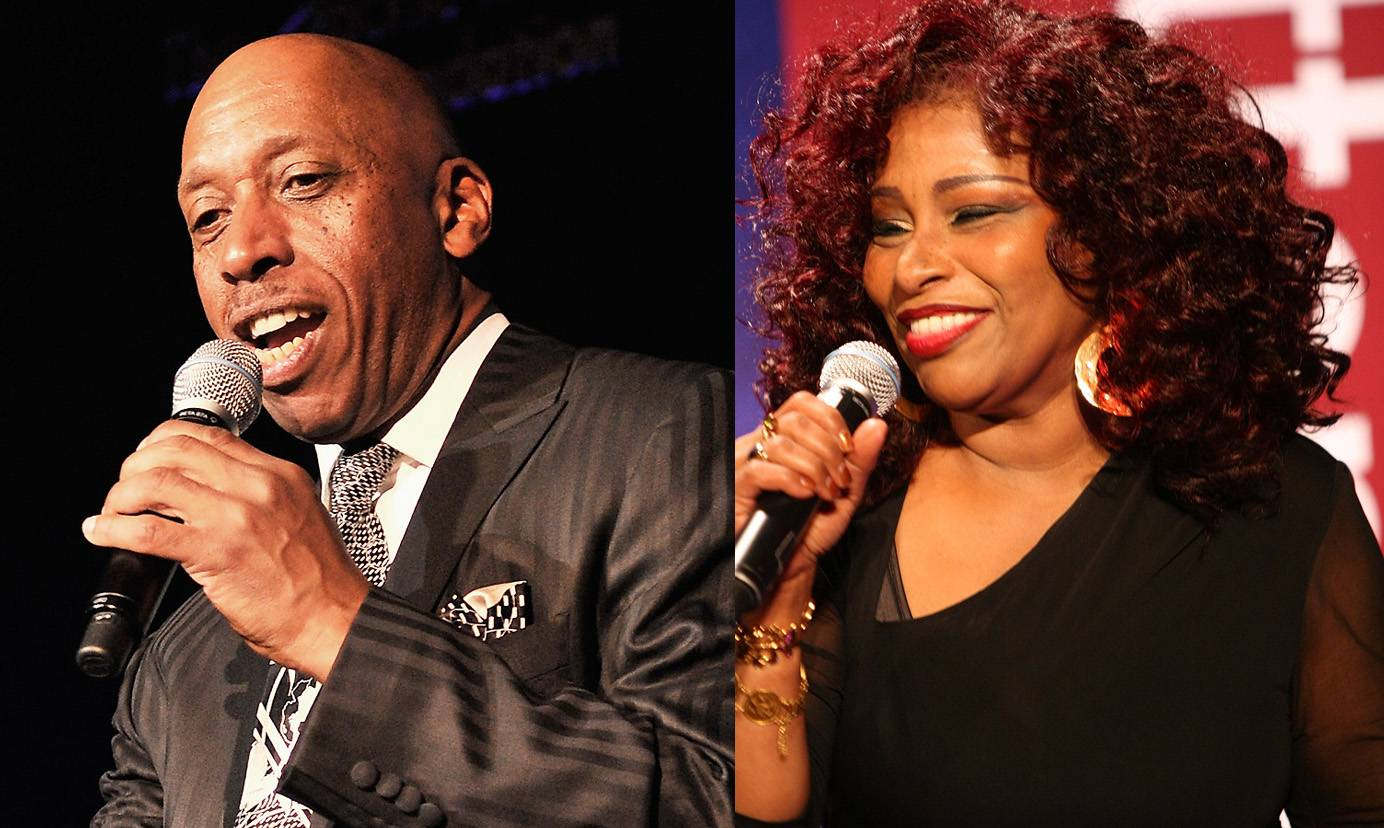 """Best Traditional Jazz Performance:Jeffrey Osborne feat. Chaka Khan - """"Baby its Cold Outside"""" - Osborne teams up with the 2009 Soul Train Legend Award recipient for a cover of the classic Holiday tune.(Photos from left: Stephen Lovekin/Getty Images, Maury Phillips/Getty Images for BET)"""
