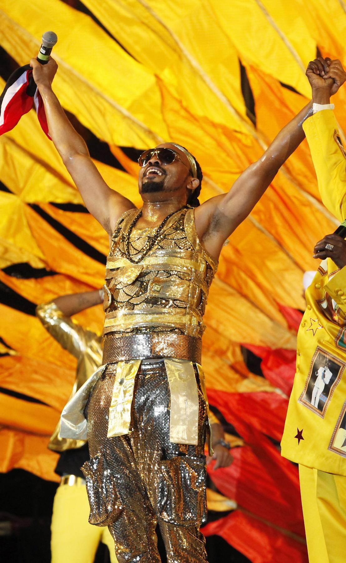 "Best International Performance: Machel Montano - ""The Fog""  - High energy soca singer Machel Montano brought the heat with this faced paced cut off his 2013 album, Machelements (Volume 1).  (Photo:Reuters /ANDREA DE SILVA /LANDOV)"