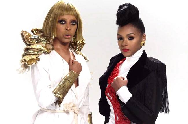 """Video of The Year:Janelle Mon?e feat. Erykah Badu - """"Q.U.E.E.N."""" - The reigning queen of The Wondaland Art Society and E. Badu brought funk to life in this artistic video.  (Photo: Atlantic Records)"""