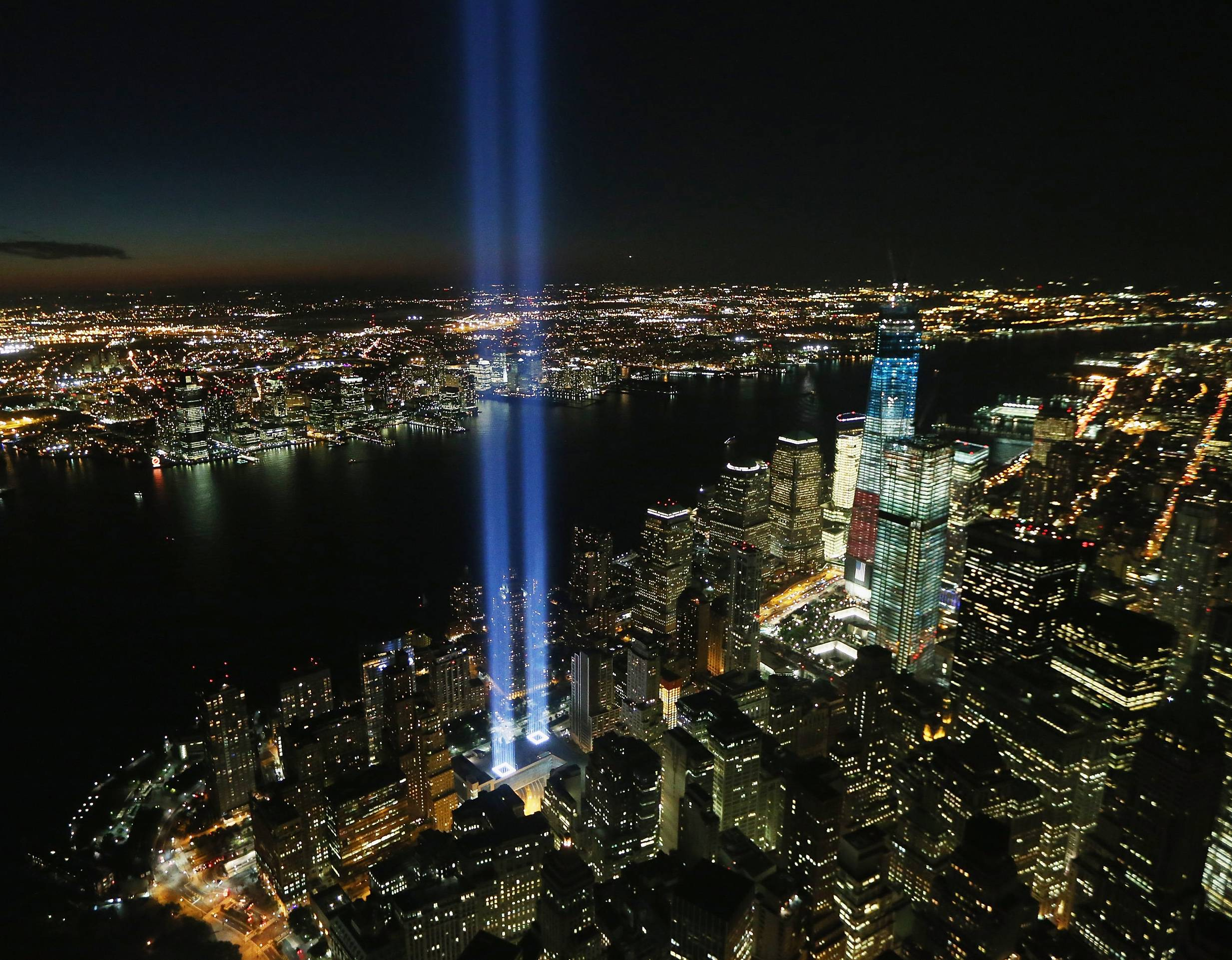 Prayers Up - And let's not forget to keep all those lost and who lost loved ones in the tragedy of 9/11 in our hearts and on our minds today as we commemorate the 12th anniversary of the event.(Photo: Mario Tama/Getty Images)