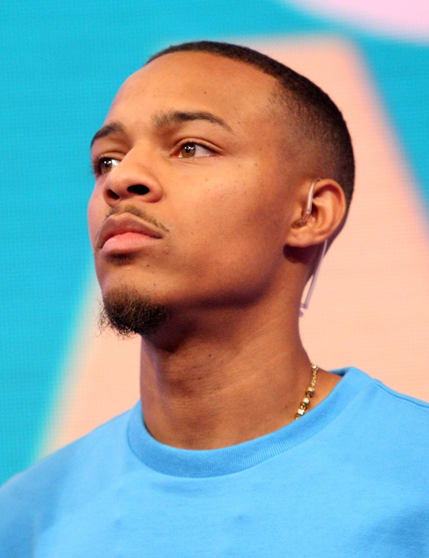 Up, Close and Personal - Bow Wow caught thinking while on 106. (Photo: Bennett Raglin/BET/Getty Images for BET)