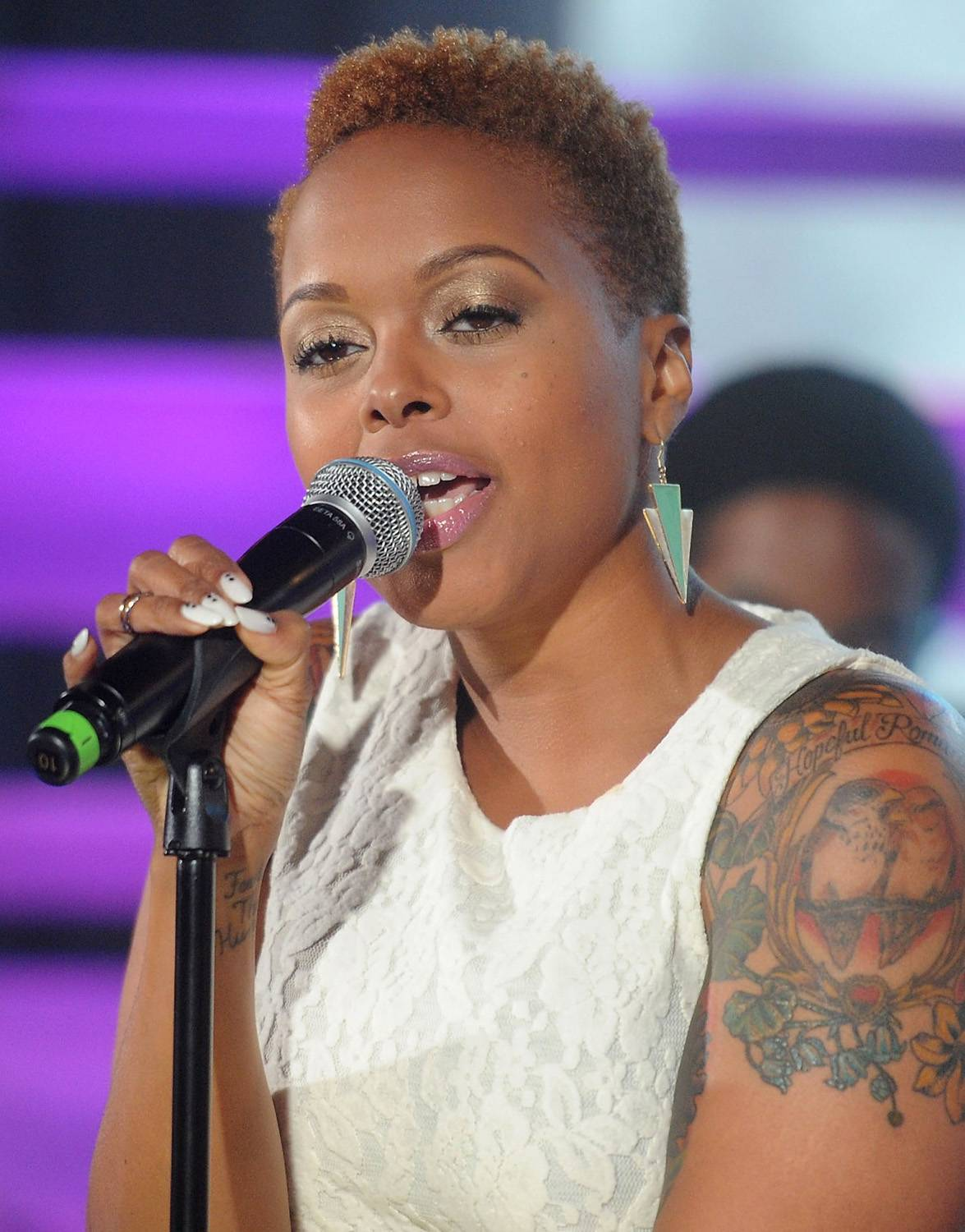 Best R&B/Soul Female Artist: Chrisette Michele - Chrisette Michele made it clear that she was Better than her soul music competition. (Photo: Jamie McCarthy/Getty Images)