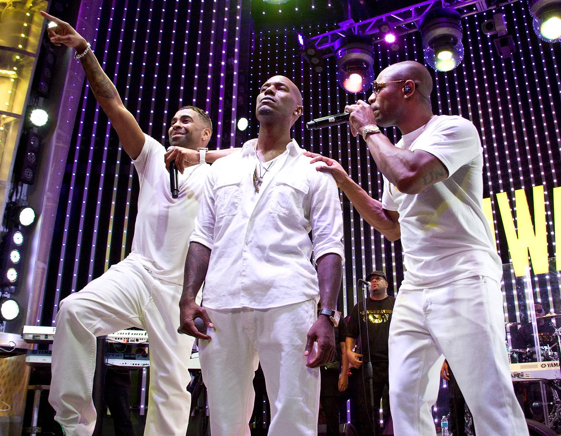 Best New Artist: TGT - It might have taken Tyrese, Ginuwine, and Tank six years to release their debut album as trio, but it was worth the wait.  Photo: Vincent Sandoval/FilmMagic)
