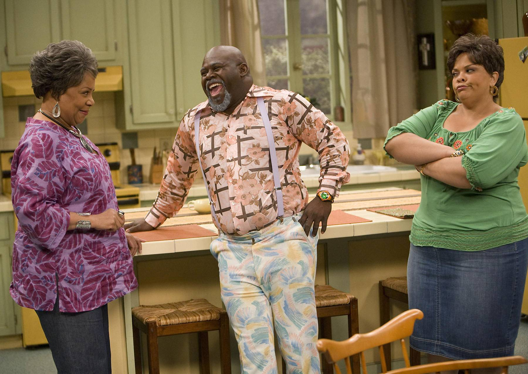 Meet the Browns - While Mann has sang background vocals for acts like Mary J. Blige and Yolanda Adams and appeared in countless stage plays, it was her role on TBS's Meet the Browns that saw the talented starlet enter America's homes and her character Cora evolve. (Photo: Lionsgate)