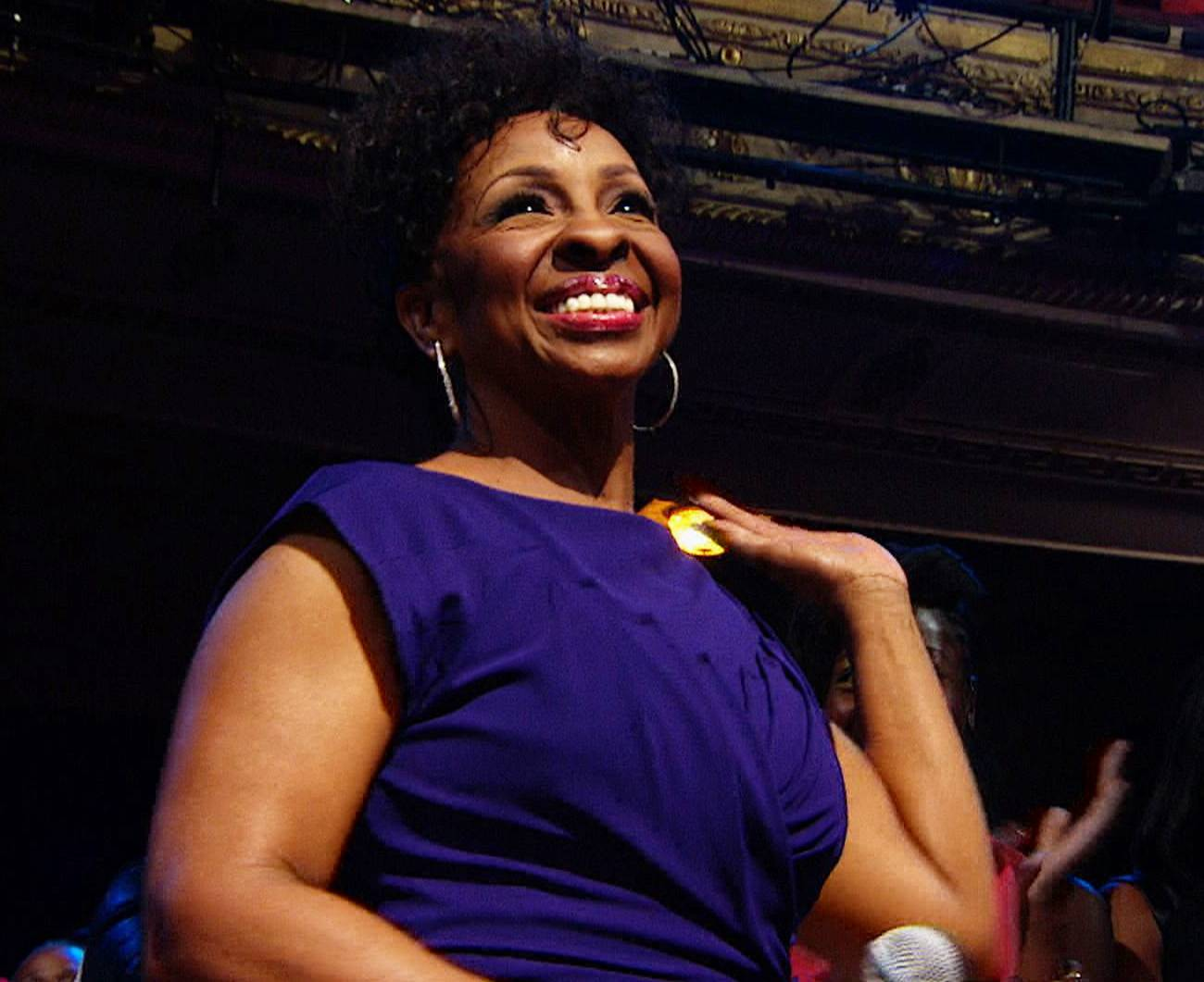 Pay Homage - Like always Gladys Knight was there to provide much needed advice and support to the each of the performers (good, bad and otherwise).   (Photo: BET)