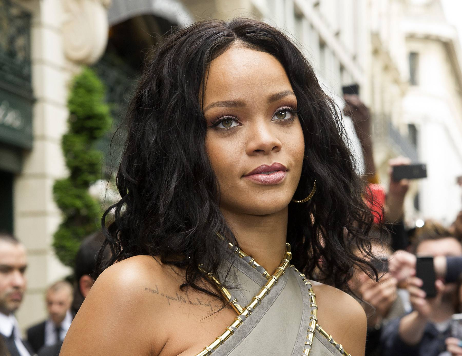 """Rih-traction - Rihanna is known to tell it like it is; however, the pop star recently got caught up in a tweet-and-delete after tweeting """"#FreePalestine."""" She later replaced it with a less controversialpost about the feud between Israel and Palestine, but that move came with much online chatter, too — about whether or not a retraction was appropriate.The tweet that stayed: """"Let's pray for peace and a swift end to the Israeli-Palestinian conflict! Is there any hope?…""""(Photo: WENN.com)"""