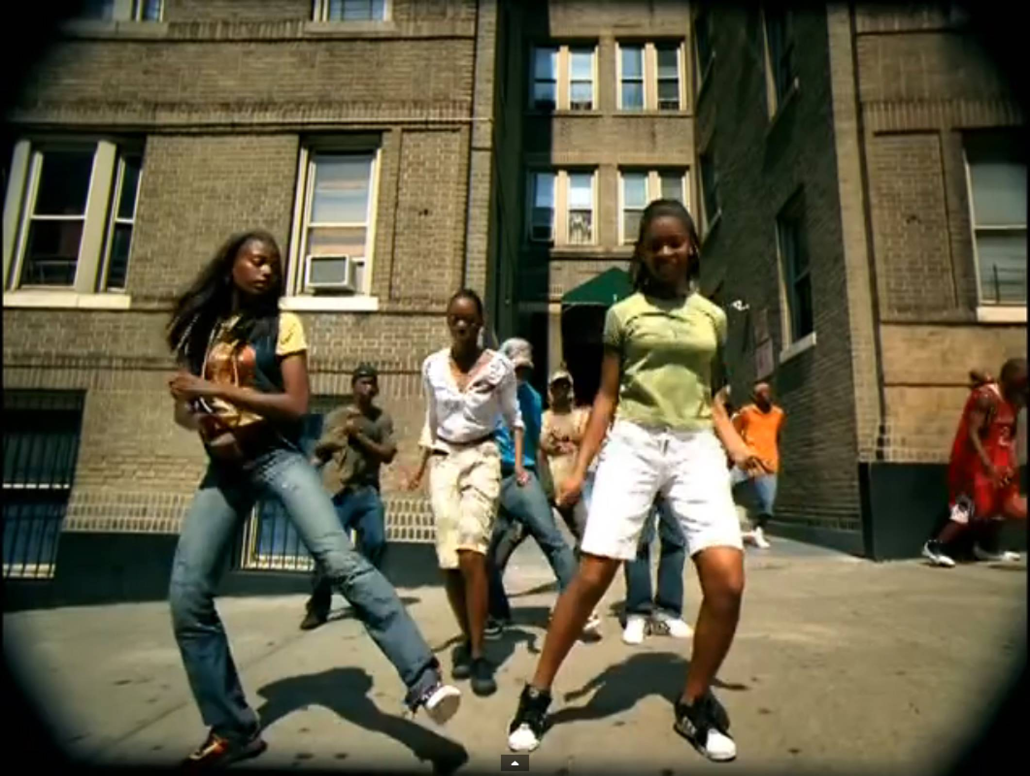 """Chicken Noodle Soup - This extension of the Harlem Shake emerged in 2006 with DJ Webstar and Young B'ssmash hit of the same name. Using a series of steps like """"let it rain,"""" """"clear it out"""" and """"let's get it,"""" the dance helped to enhance Harlem's basketball culture, providing entertainment in between games at Rucker and """"baby"""" Rucker parks.(Photo: Universal Records)"""