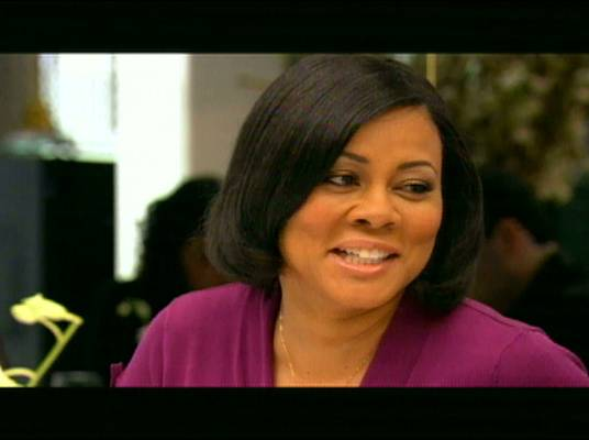"""Lela Rochon - Lela Rochon, who co-starred in """"Harlem Nights"""" and """"Waiting to Exhale"""" had a divas lunch with Ashley and her mother in season two."""