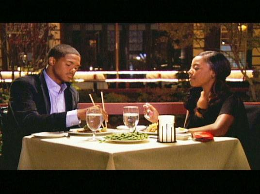 Fancy Shmancy - Moriah treats Tyler to a nice dinner. No paper napkins or ketchup packets on this date!