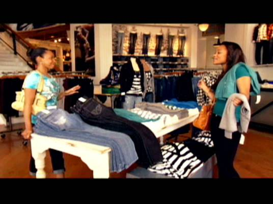 Shop Talk - Staci and Aysia talk about Justin while they shop for clothes.