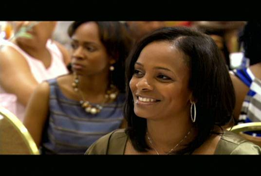 Full of Pride - Ashley's mother, actress Vanessa Bell Calloway, glows as her daughters honor her.