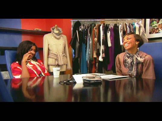 Briana and Bridget - Bridget continues to plan for Briana's big designer bag showcase.