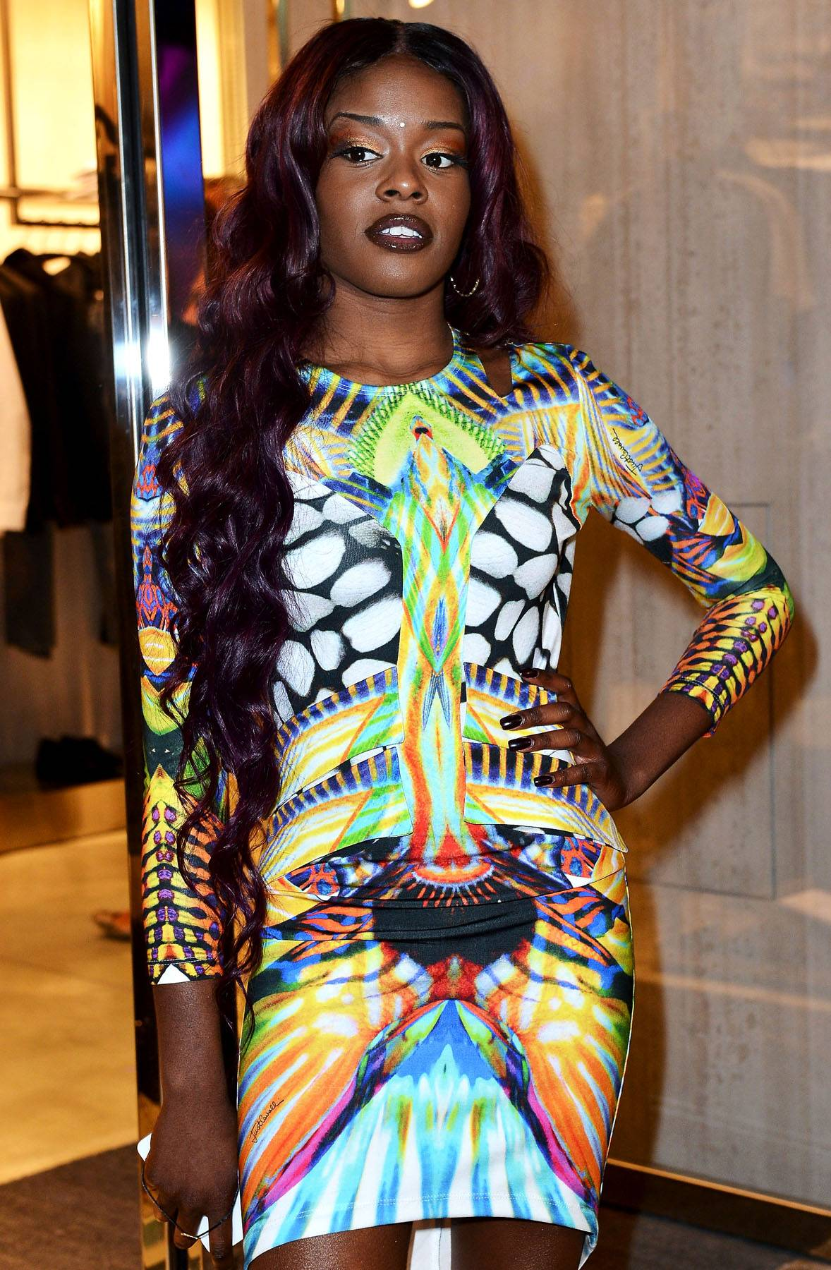 """Dolce & Gabbana - While most of Azealia Banks'sbeefs seem pointless, this one we can get behind: The Harlem rapper lashed out at Italian designer Dolce & Gabbana for their Spring 2013 collection, which featured imagery of Black women that recalled old Jim Crow-era stereotypes. """"Whoever designed that racist a** Dolce and Gabanna collection needs a swift kick in the mouth and a big d**k up the a**,"""" Banks tweeted. """"I really hate when people do corny, racist things then try to justify it as 'art.' It's all just really unnecessary. The clothes in the collection were fine without all the 'black mammie' imagery."""" (Photo: Tullio M. Puglia/Getty Images)"""