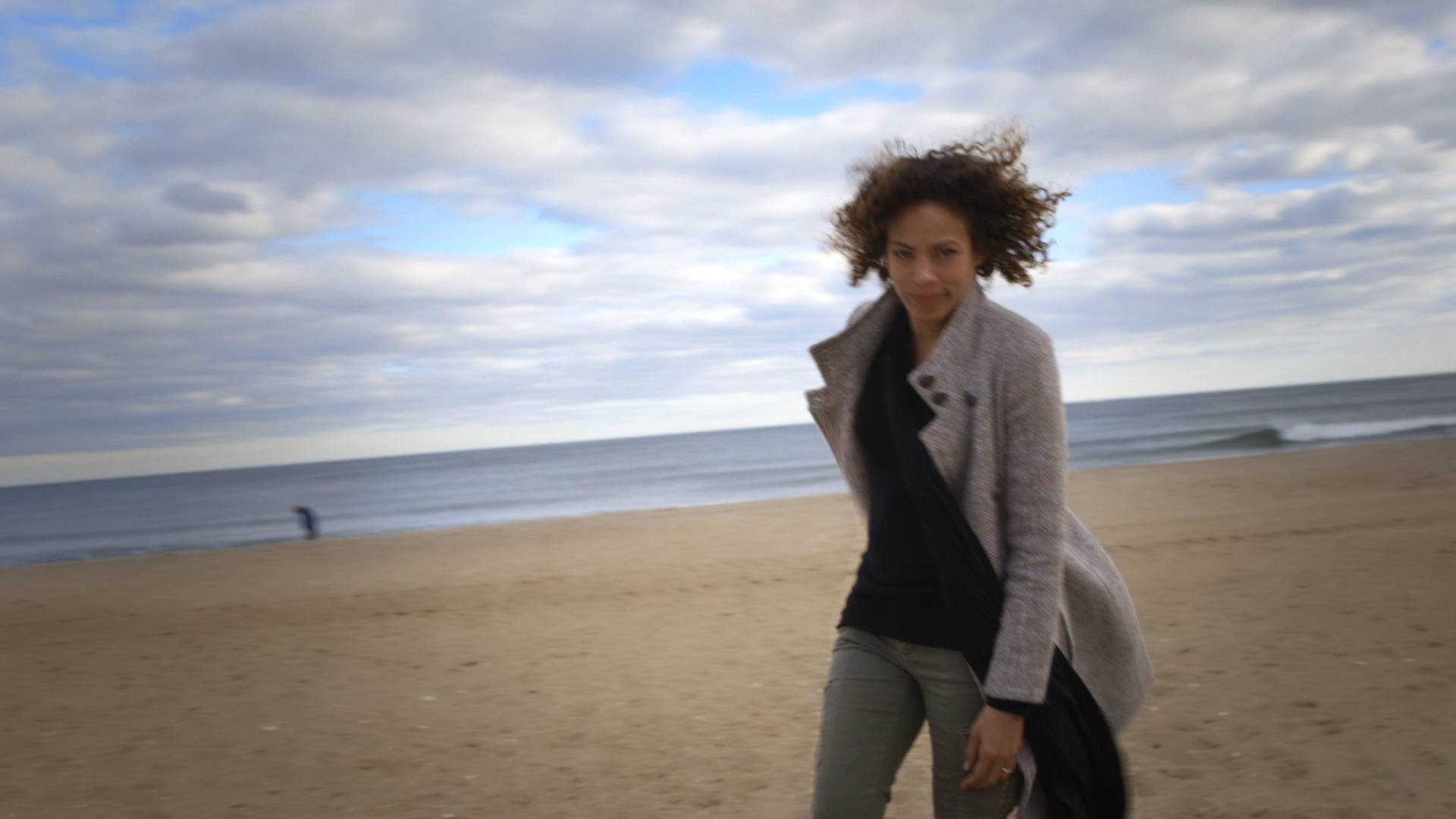 On the Shore of the Atlantic Ocean - Watch #BLX: In Sea Girt, NJ, With Tawny Cypress(Photo: BET)