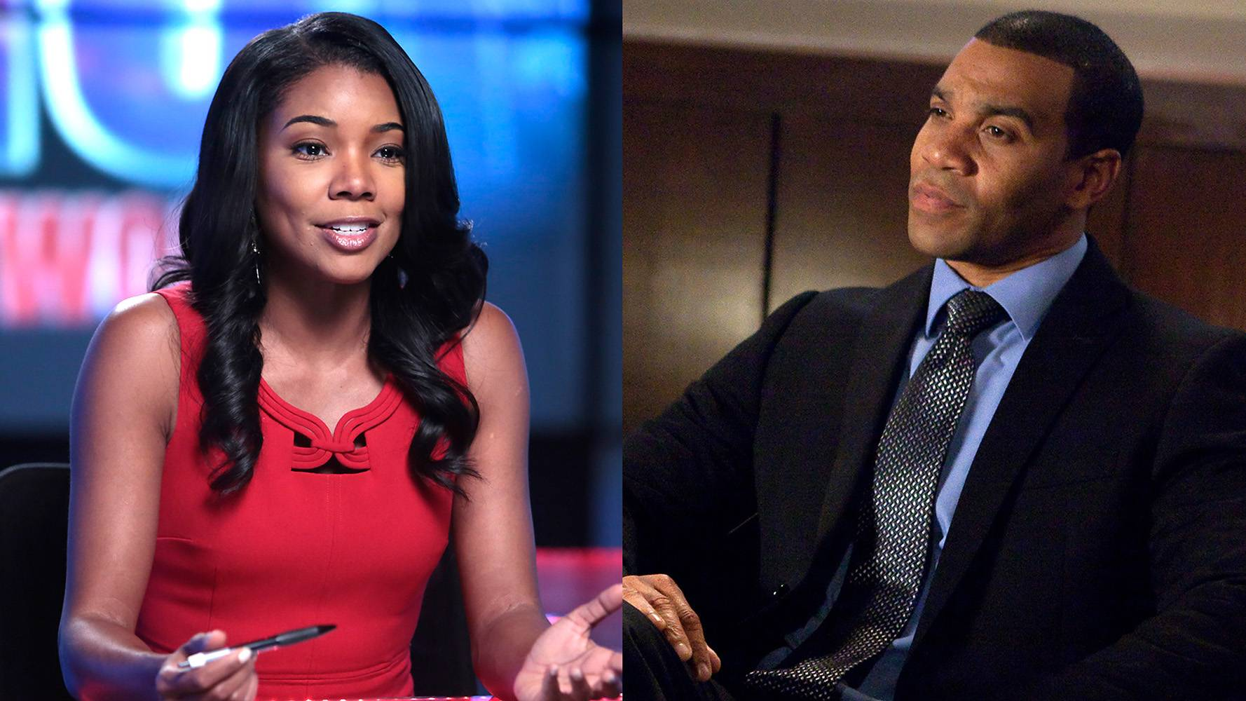Mark Bradley and Mary Jane  - The Washington, D.C., native starred on The Bold and the Beautiful, but now Aaron D. Spears has come to BET as Mary Jane's best friend and co-worker Mark Bradley.(Photos: BET)