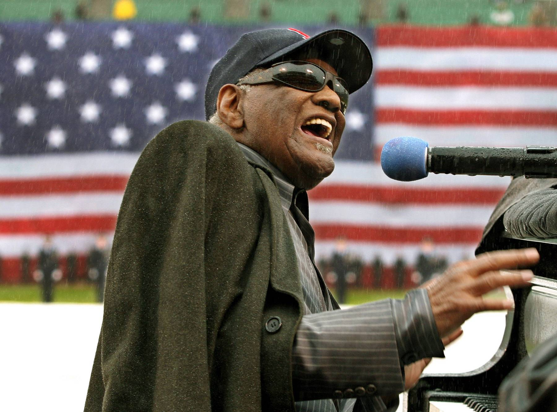 'Them That Got' by Ray Charles - Patrick is over the Niecy and Mary Jane drama, especially when he's sitting in his tiny apartment while Mary Jane is living it up in a lush house and complaining.   (Photo: REUTERS/Jim Bourg /Landov)