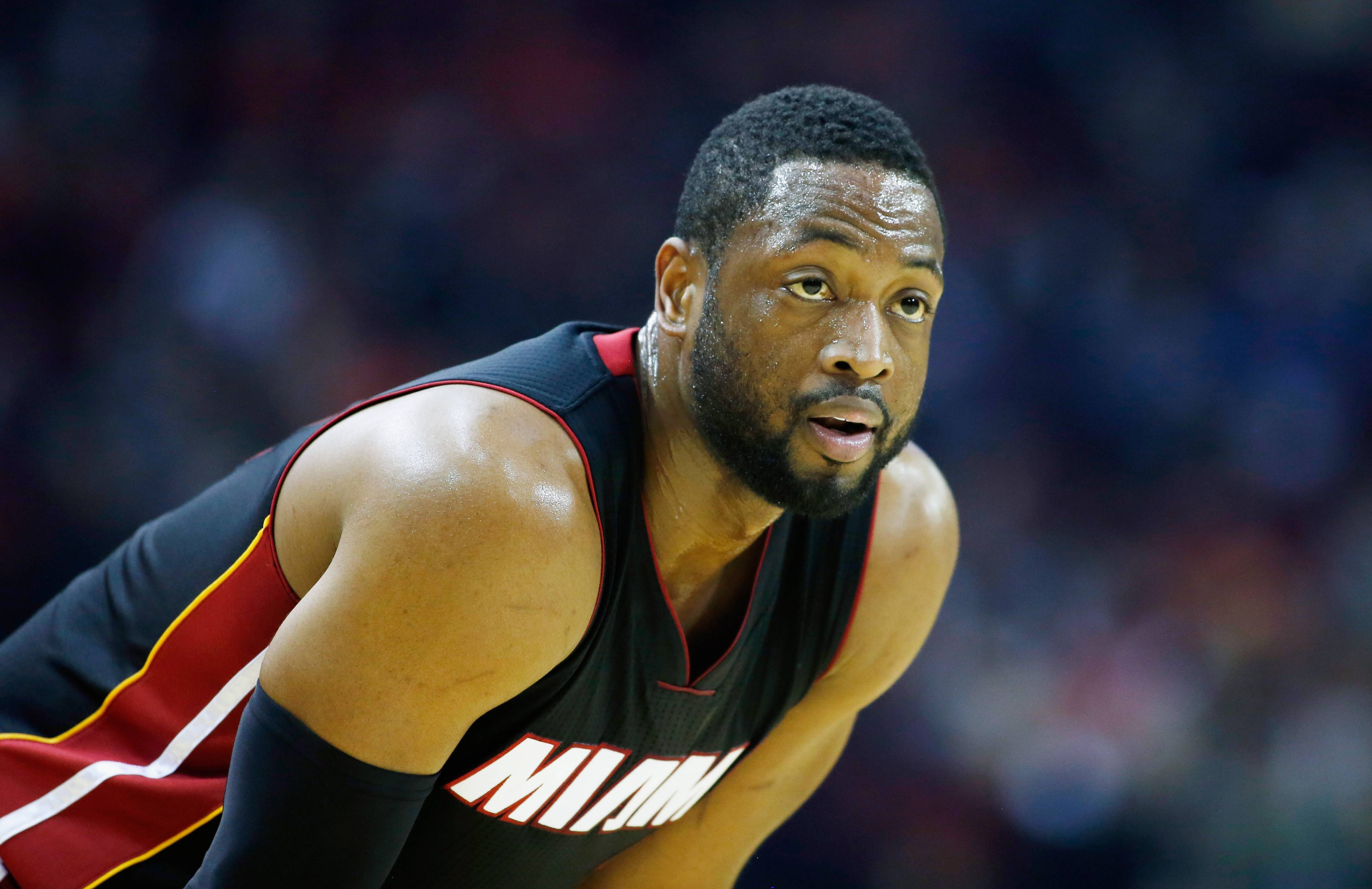 D. Wade's Finger Drama - The NBA has fined D. Wade $15,000, for flipping the bird at some heckling fans, according to reports. The Miami Heat player got frustrated with fans who were allegedly saying things about his wife, Gabrielle Union, so he went in. The NBA has gotten a lot stricter in terms of their standards for player conduct but we can't fault a man for defending his wife's honor.   (Photo: Scott Halleran/Getty Images)