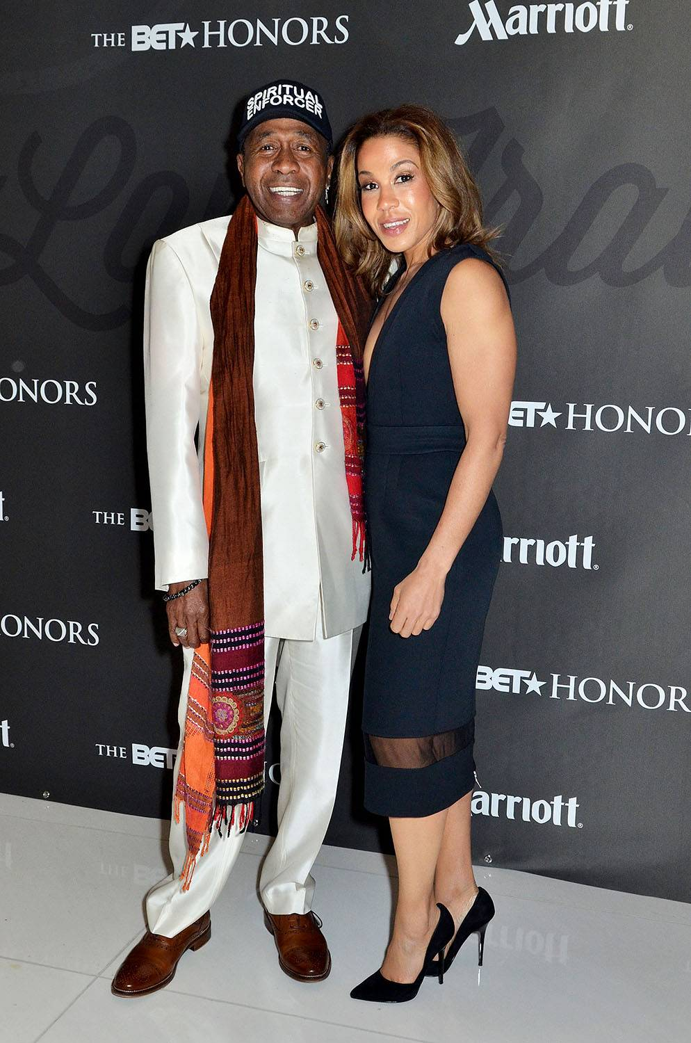 Extraordinary Bloodline - Ben Vereen with guest and daughter Kabara Vereen.(Photo: Kris Connor/BET/Getty Images for BET)
