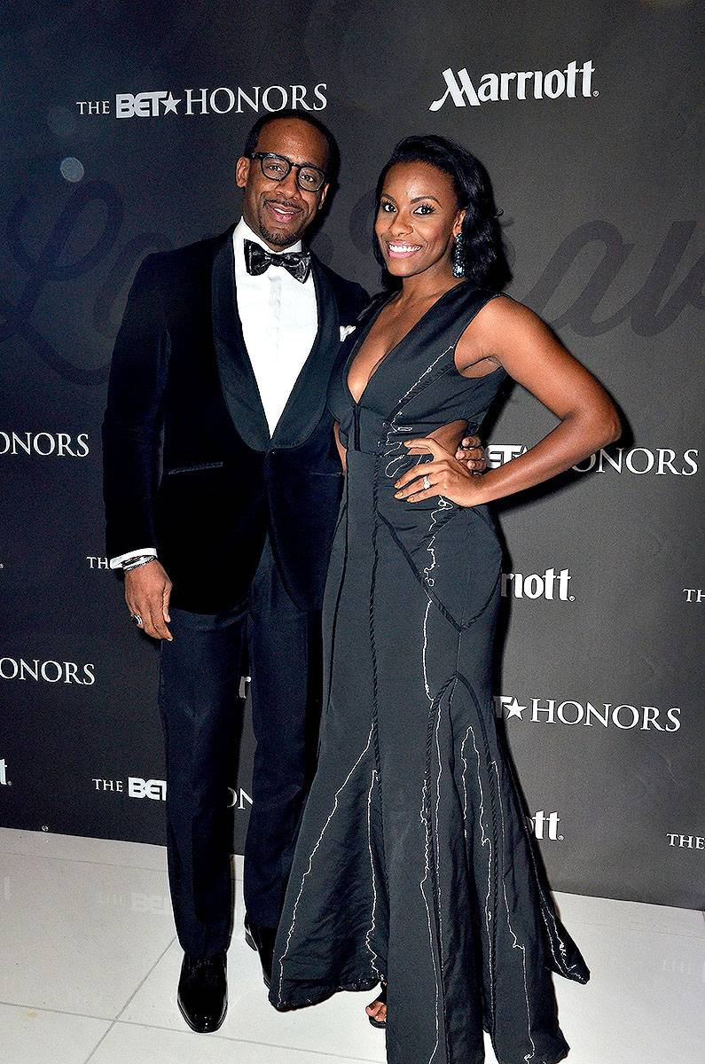 Black Love - Motivational speaker Jeff Johnson (L) and wife Jacqueline Johnson,(Photo: Kris Connor/BET/Getty Images for BET)