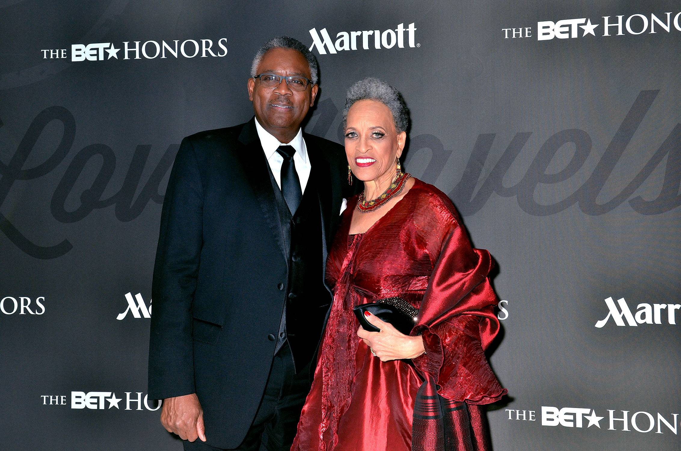 Knowledge + Power - James Stanton and honoree Dr. Johnnetta Betsch Coleget ready for their close-up.(Photo: Kris Connor/BET/Getty Images for BET)