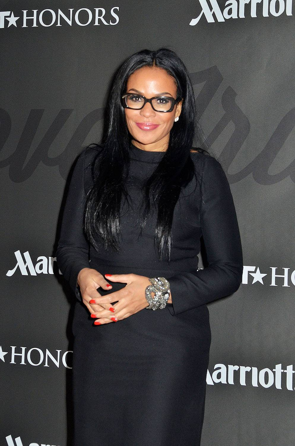 Forever Rockin' - Beverly Bondsmizes for the camera.(Photo: Kris Connor/BET/Getty Images for BET)