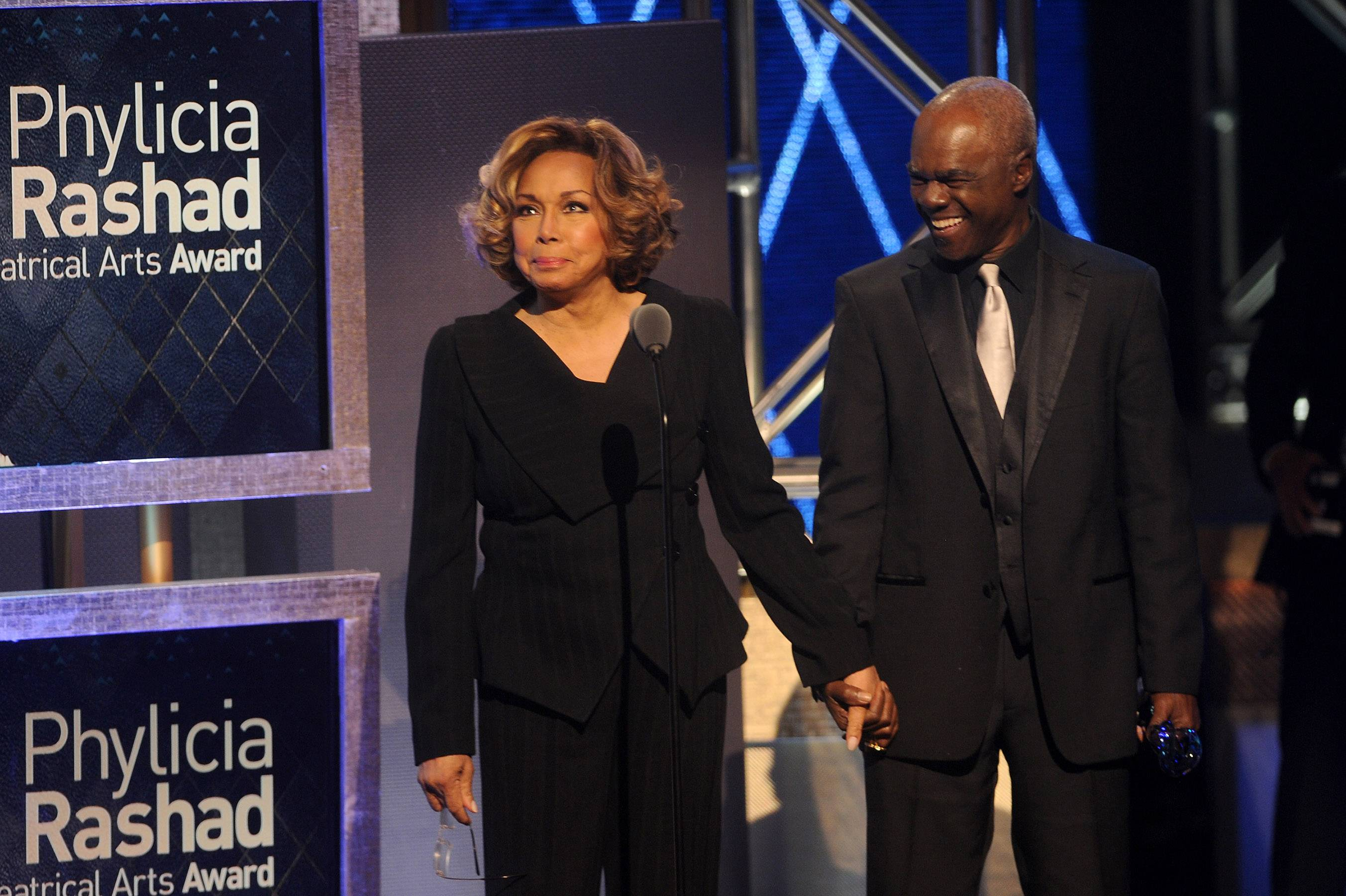 The Dynasty Sign  - Actress Diahann Carroll and actor Glynn Turman speak on the grace and appreciation felt by the roles Phylicia Rashad has played throughout her career. (Photo: Brad Barket/BET/Getty Images for BET)