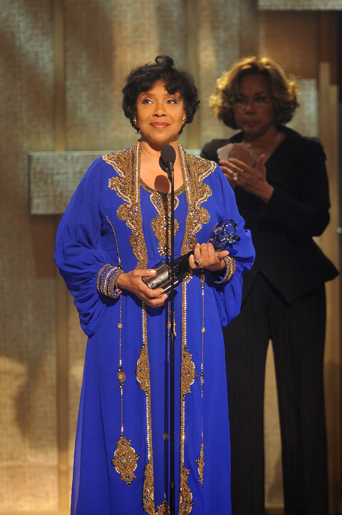 Mother Has Arrived  - Actress Phylicia Rashad accepts her award for Theatrical Arts and keeps her words short and sweet. (Photo: Brad Barket/BET/Getty Images for BET)