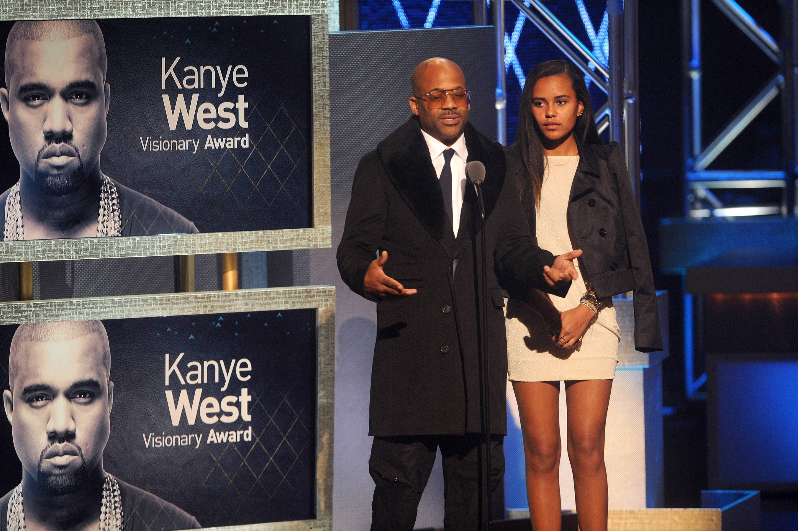 The Man, The Legend, The Visionary  - Damon Dash, one of the founders of Roc-A-Fella, spoke on his experiences with the one and only Kanye West. (Photo: Brad Barket/BET/Getty Images for BET)