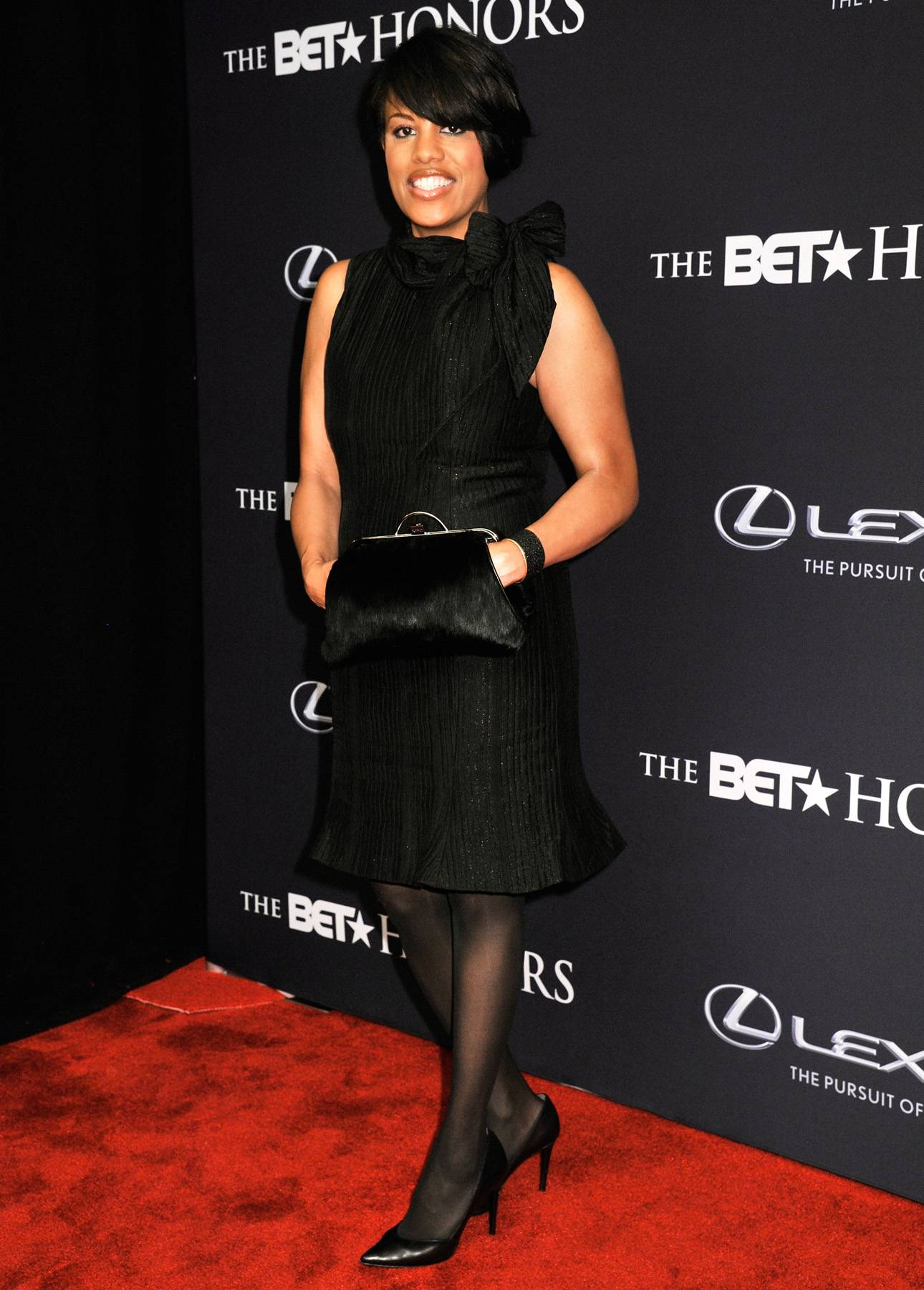 Run This Town  - Mayor of BaltimoreStephanie Rawlings-Blake is certainly running this town with her classic black knee-length dress. (Photo: Kris Connor/BET/Getty Images for BET)