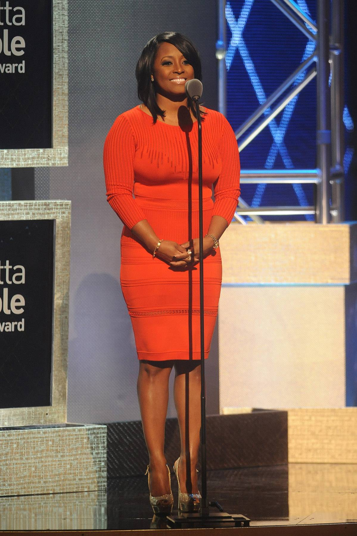 Tribute to Dr. Johnnetta Betsch Cole  - Actress Keshia Knight Pulliam speaks aboutDr. Johnnetta Betsch Cole's accomplishments, educational impact and her sincere dedication to humanitarianism.(Photo: Brad Barket/BET/Getty Images for BET)