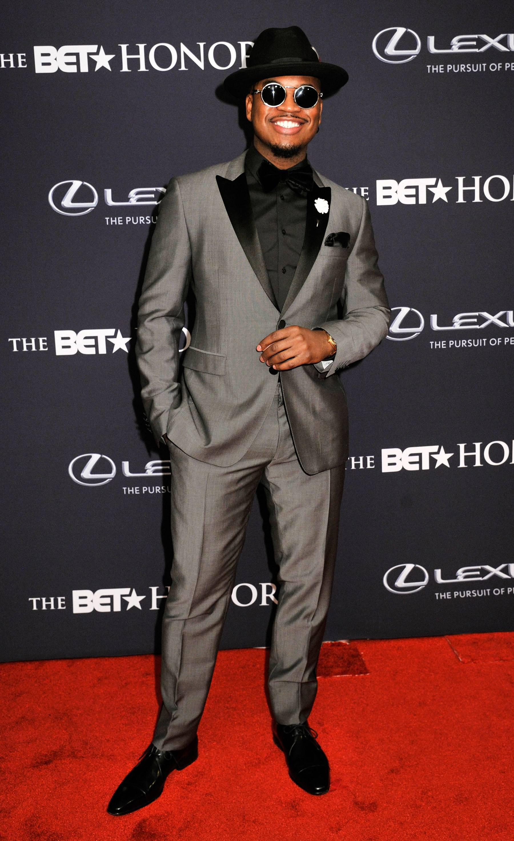 The Gentlemen's Club  - Write and singer Ne-Yo reminds us what it looks like to be in the gentlemen's club! He's never without a nice suit and tie. (Photo: Kris Connor/BET/Getty Images for BET)