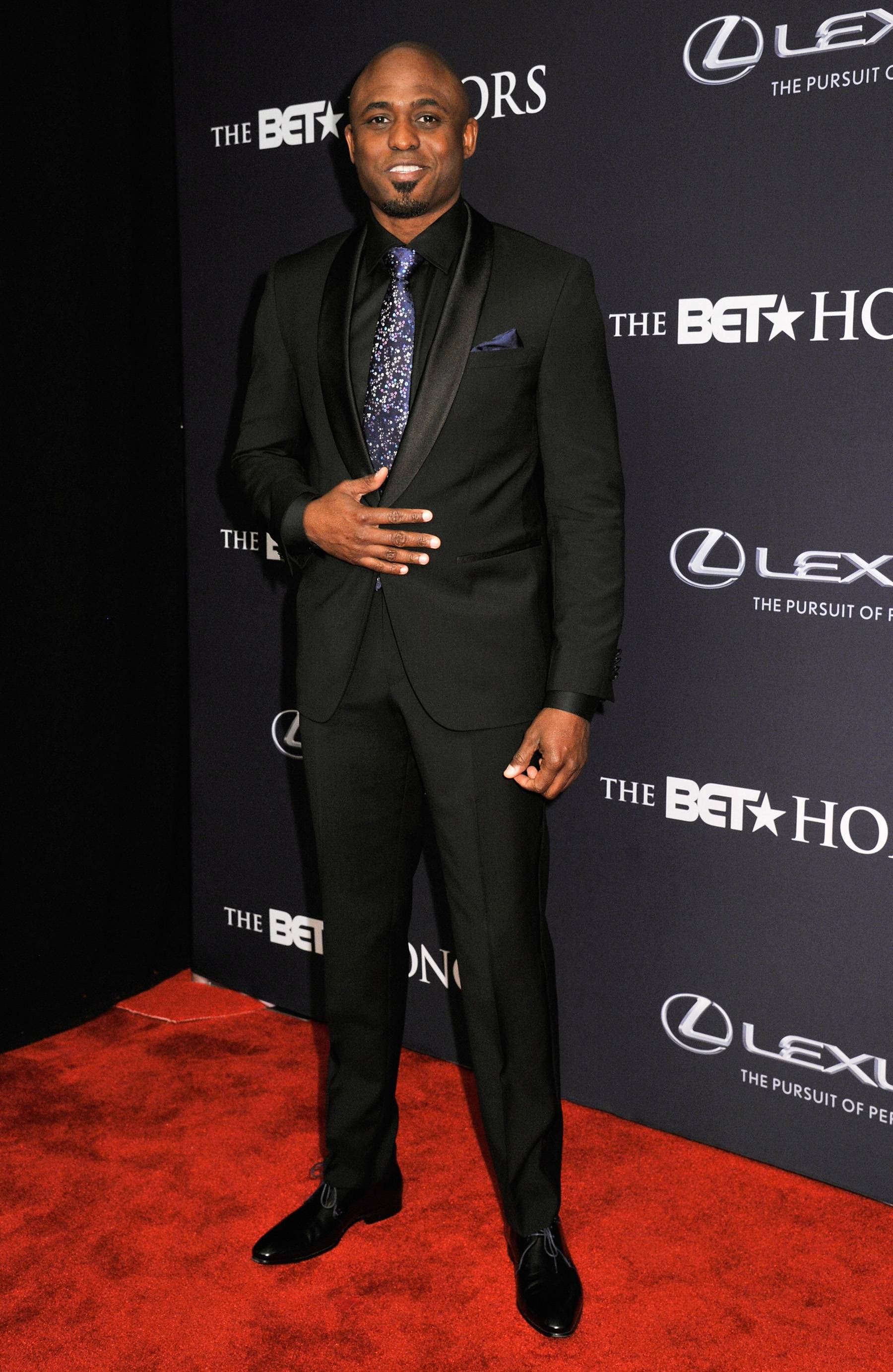 The Renaissance Man  - The BET Honors 15 host and funny manWayne Brady is dashing and cool as he walks the carpet. (Photo: Kris Connor/BET/Getty Images for BET)