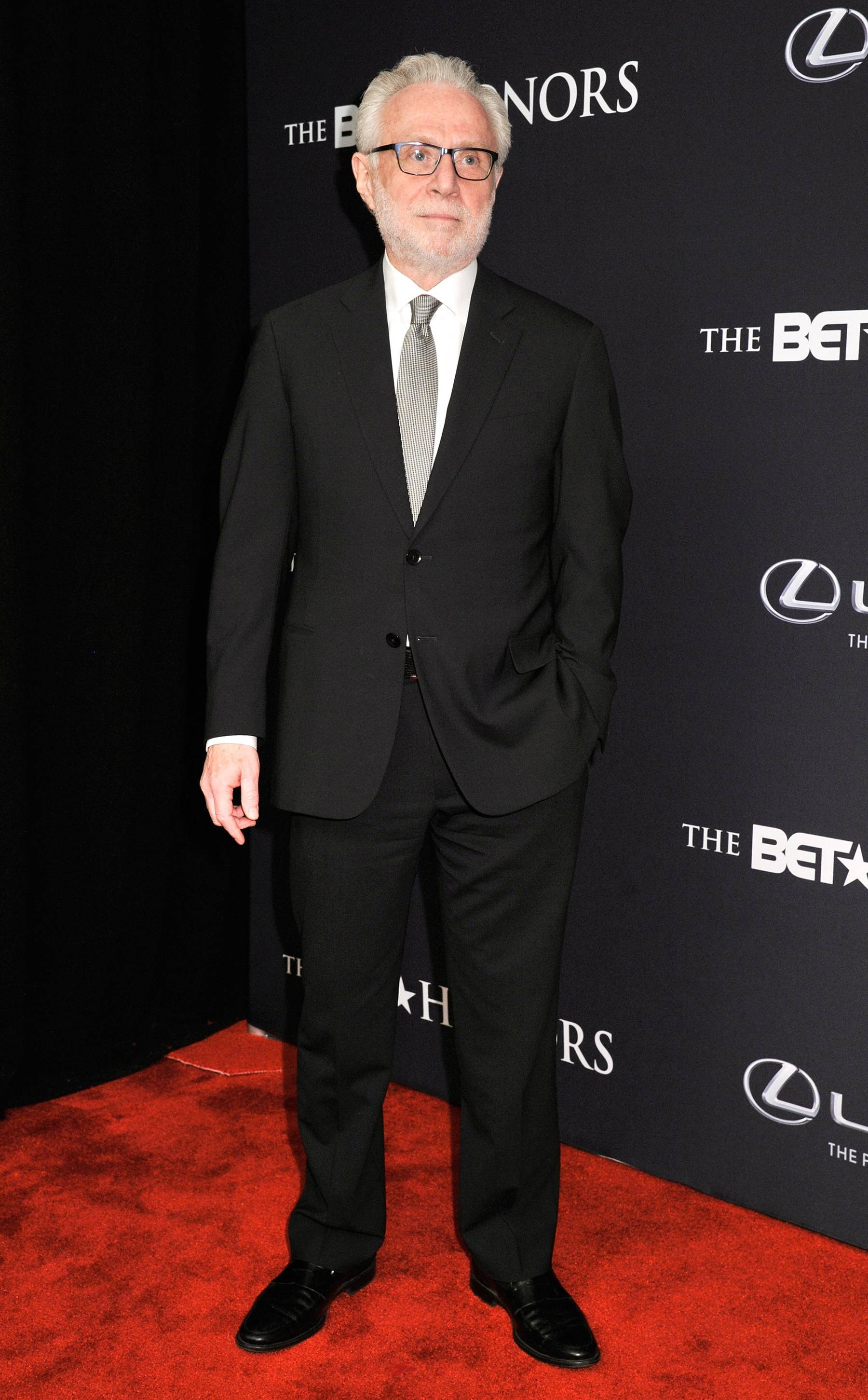 Newsworthy - What's the news on the carpet? Journalist Wolf Blitzer hits the carpet looking sharp as usual. (Photo: Kris Connor/BET/Getty Images for BET)