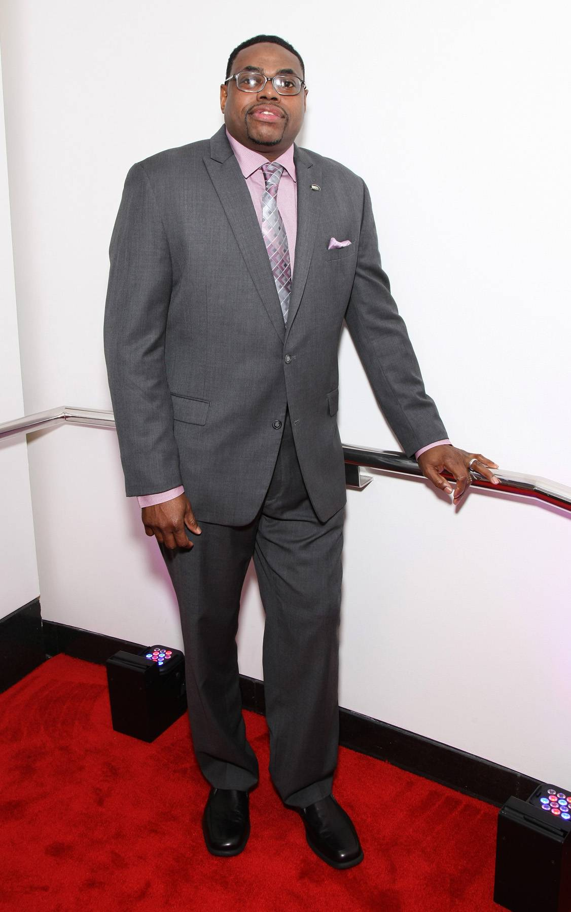 Showing Off  - Producer Wayne Brooks posts up for photos at The BET Honors 2015. (Photo: Bennett Raglin/BET/Getty Images for BET)
