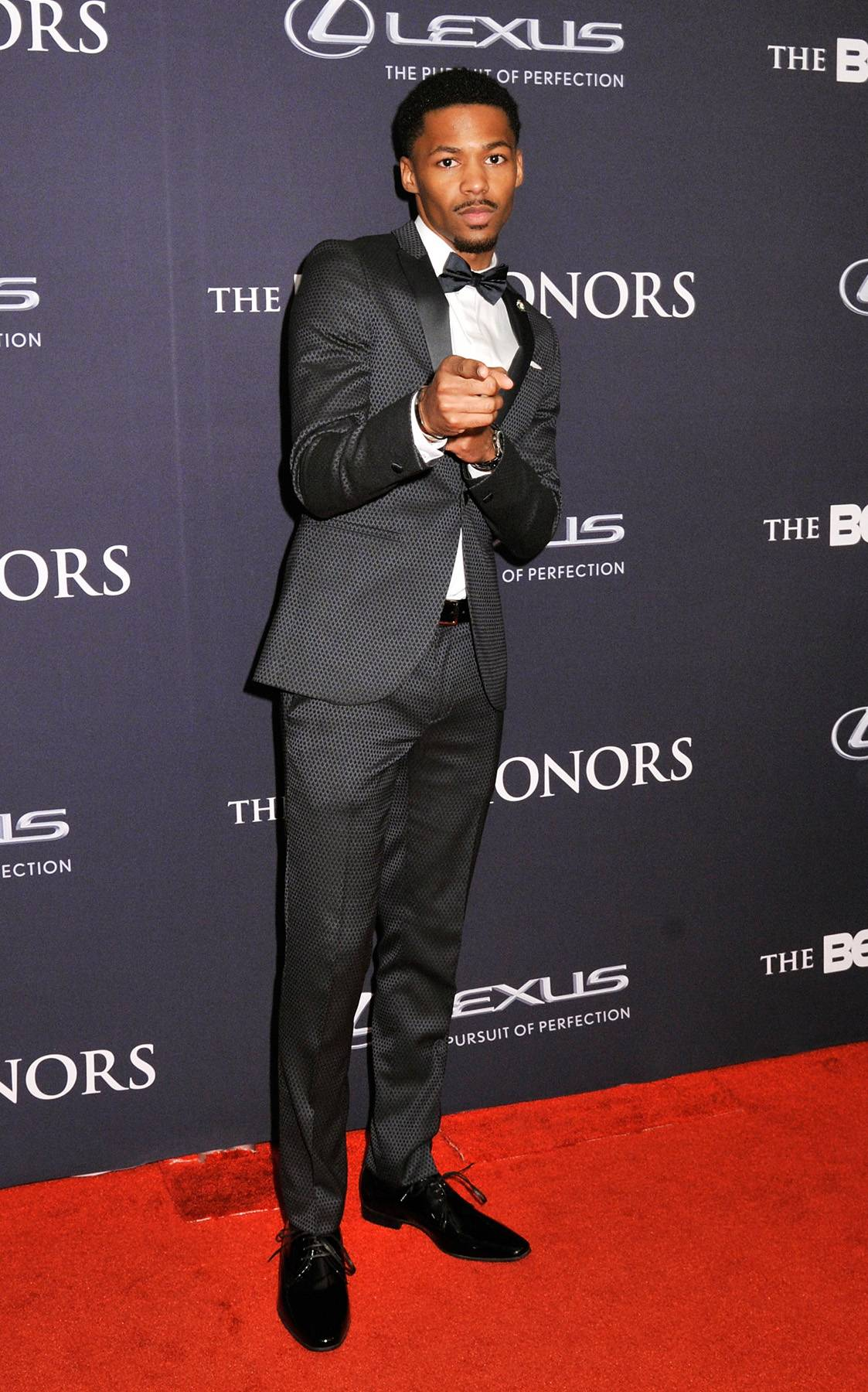 Black Swann  - Vince Swann of BET's new upcoming show points out that his fashion game is very well put together. (Photo: Kris Connor/BET/Getty Images for BET)