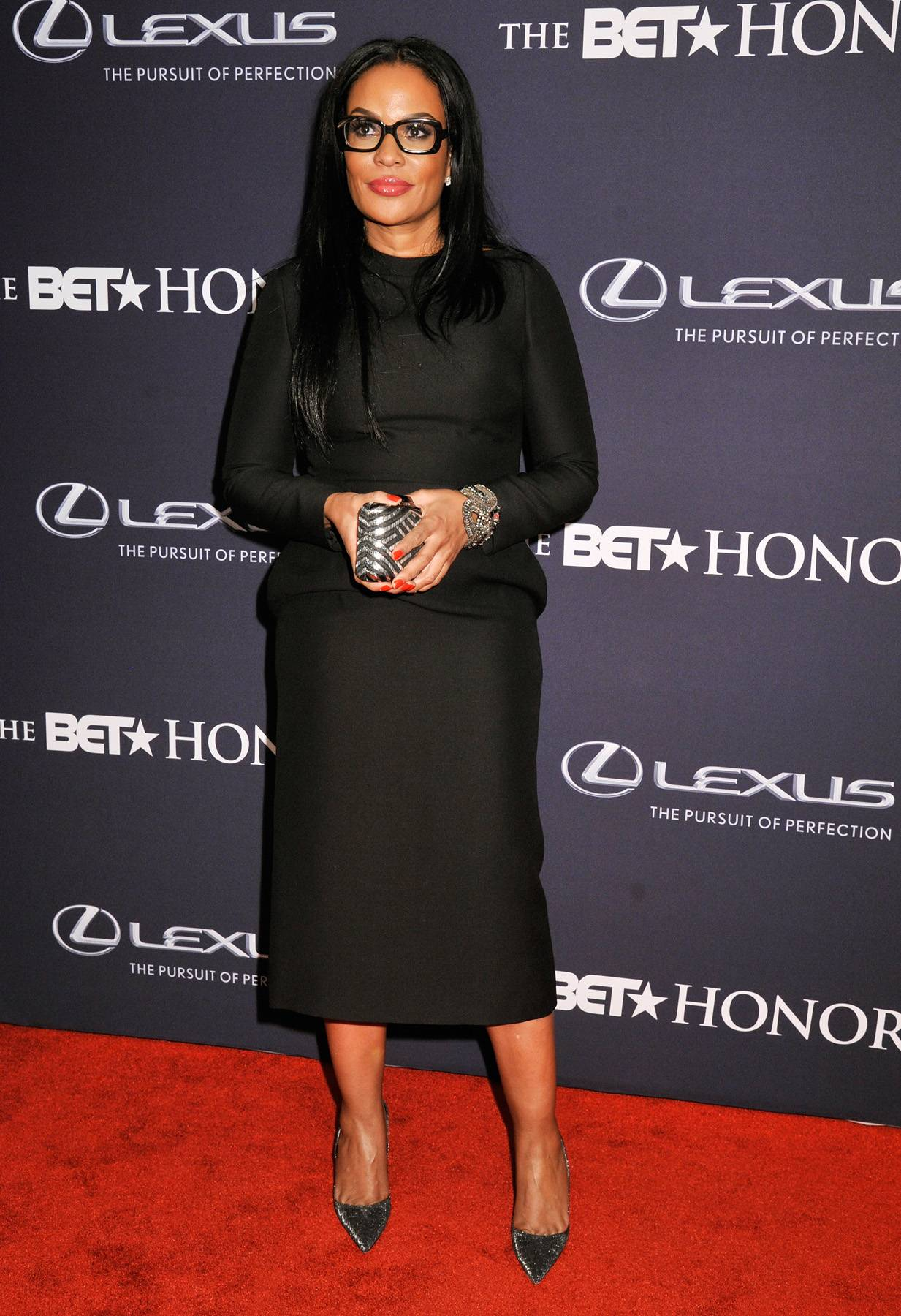 Black Girls Rock!  - Beverly Bond, the founder and executive director of Black Girls Rock!,keeps it sexy in all black with her sexy specs. (Photo: Kris Connor/BET/Getty Images for BET)