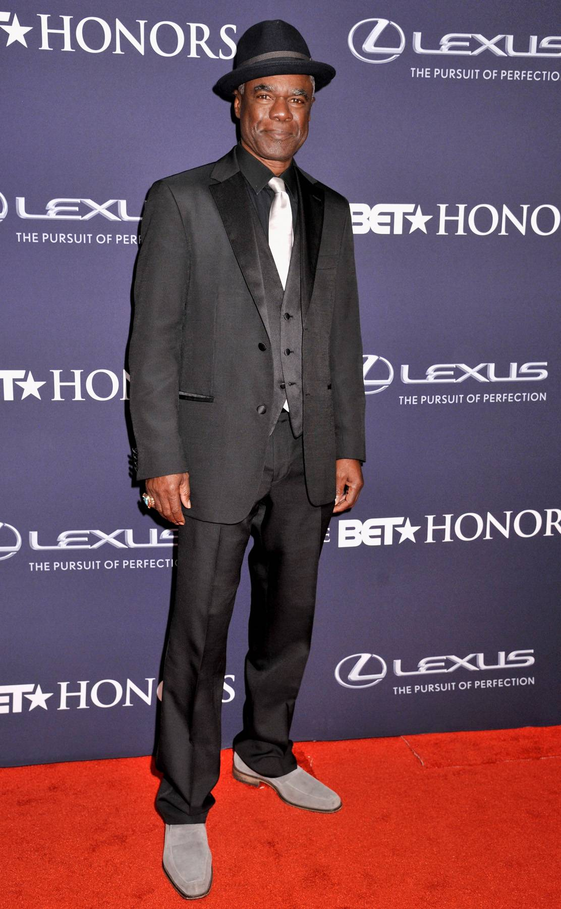 A Different World  - Actor Glynn Turman is channeling the gray scale. (Photo: Kris Connor/BET/Getty Images for BET)