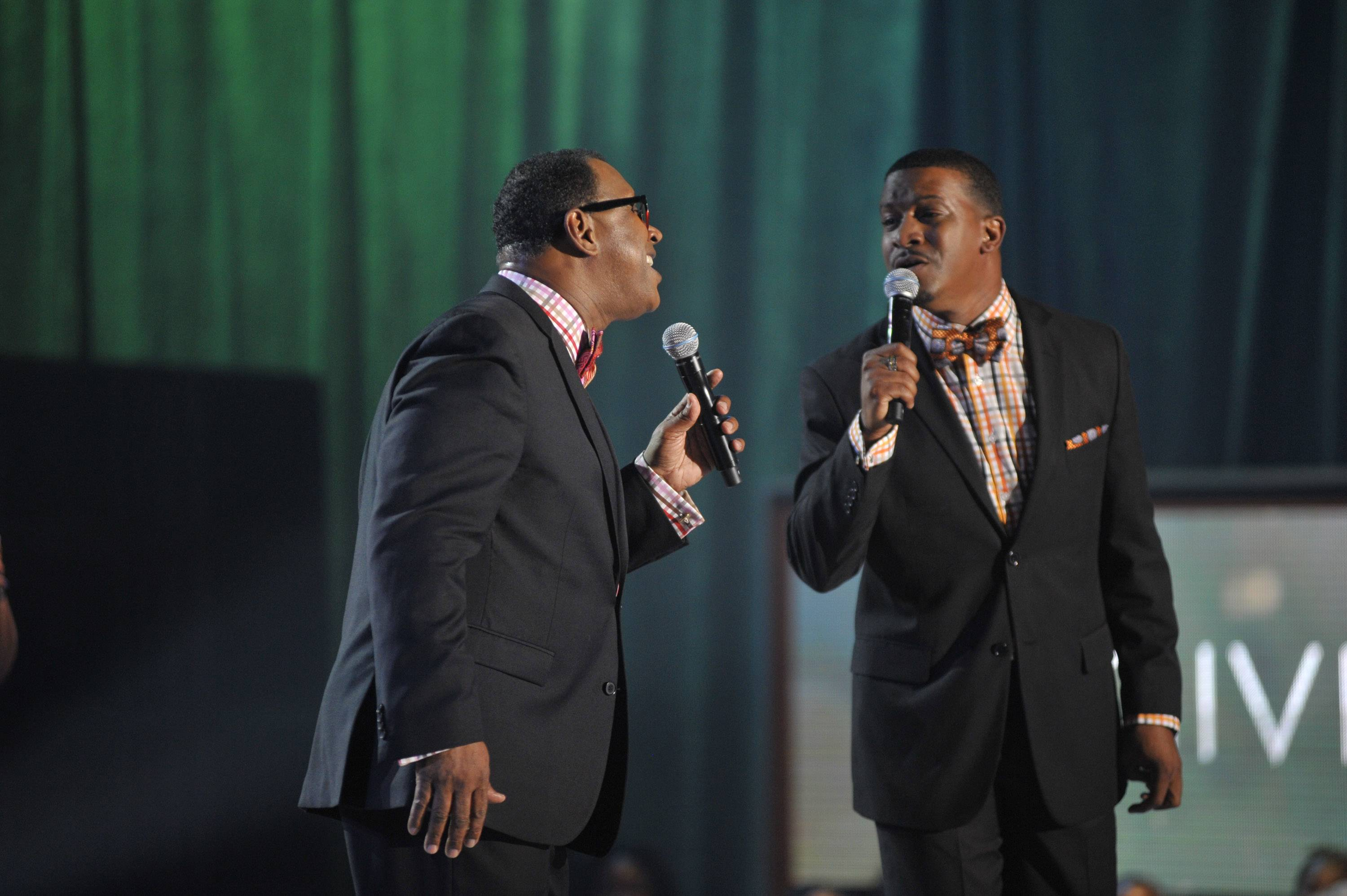 Clap Along  - The Williams Brothers had the crowd clapping and on their feet! (Photo: Kris Connor/Getty Images for BET Networks)