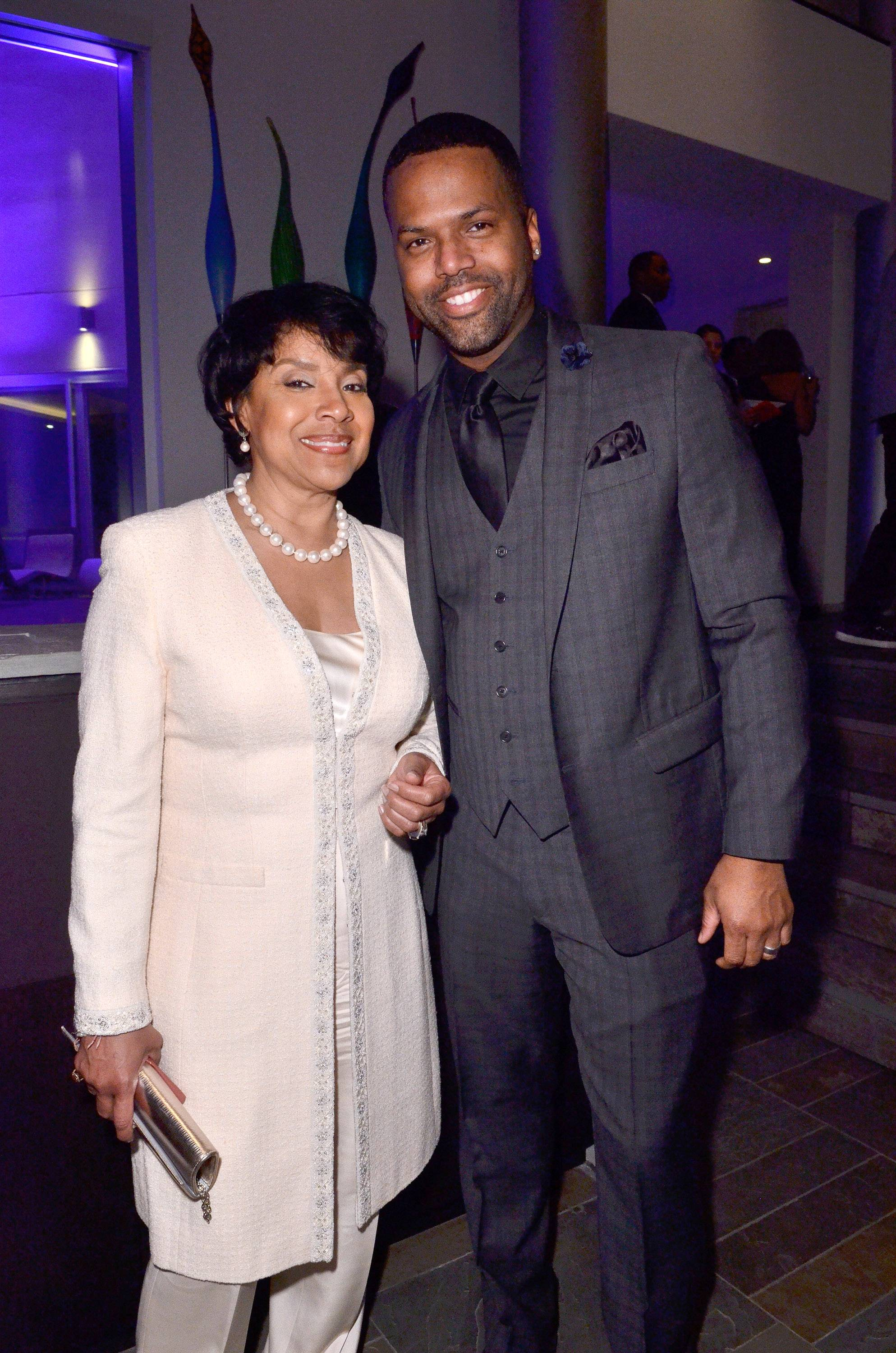 All Smiles - Phylicia Rashad and AJ Calloway are all smiles during The BET Honors weekend.(Photo: Kris Connor/BET/Getty Images for BET)