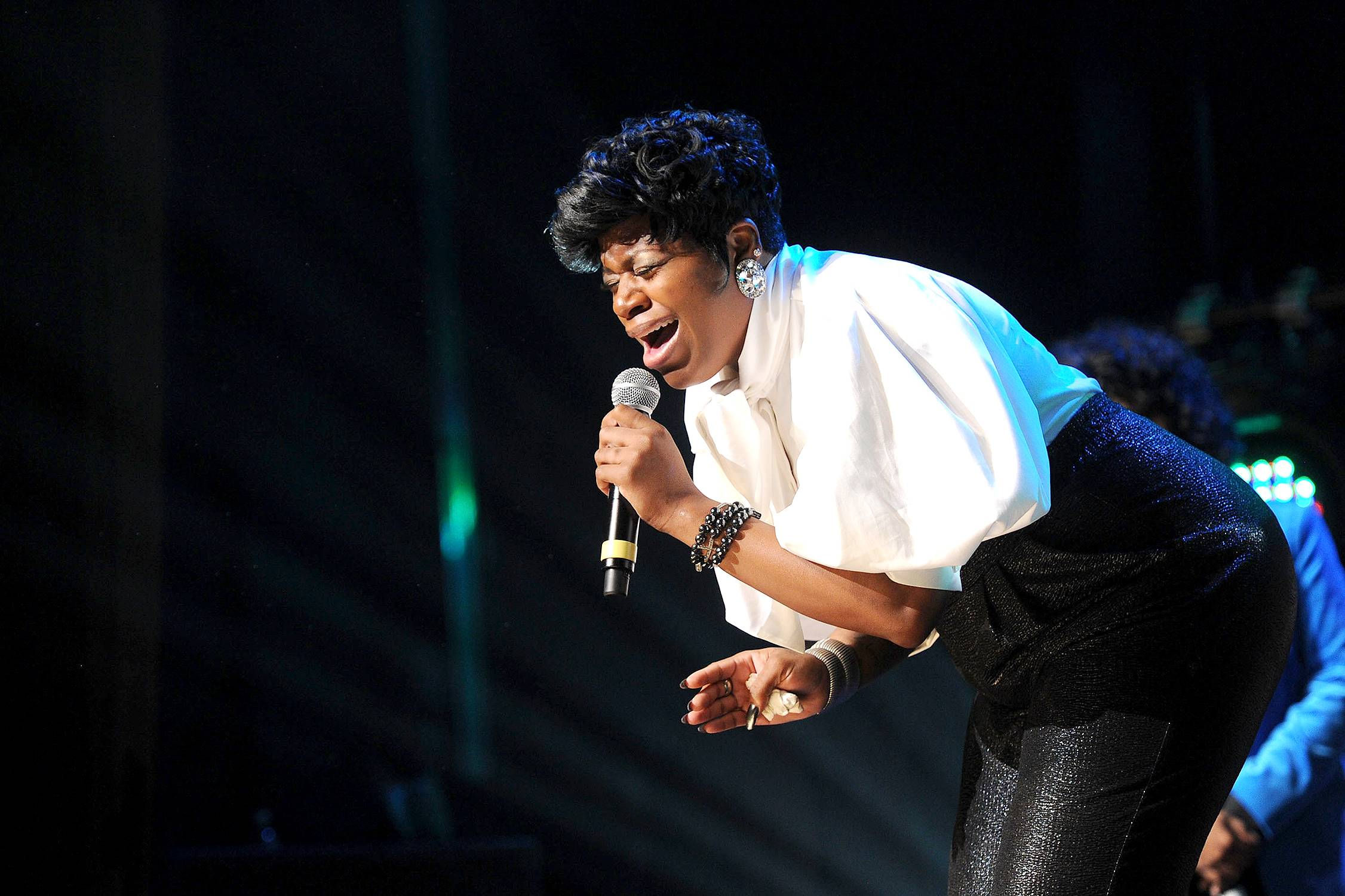 Deep In My Soul - Fantasia Barrino performs during the Super Bowl Gospel Celebration 2012 at Clowes Memorial Hall of Butler University in Indianapolis. (Photo: Rick Diamond/Getty Images for Super Bowl)