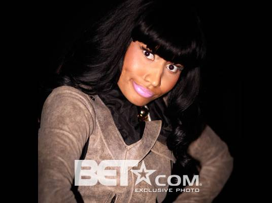 """Nicki Minaj - """"I feel sexy in flats and high boots, but once I put those high heels on, I just step into a whole ?nother realm of sexy. Regular Nicki is very comfortable.""""<br><br>(Photo Credit: Christine Jean Chambers)"""