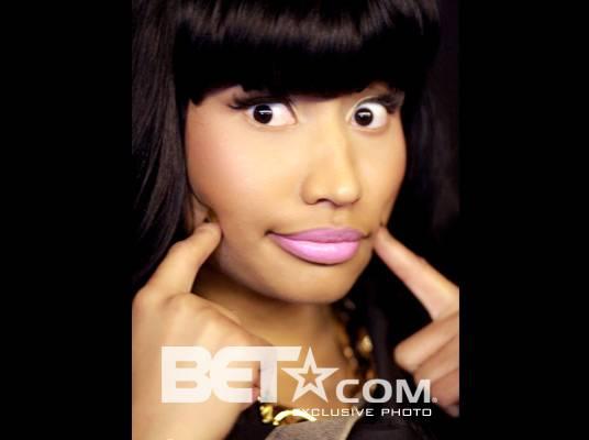 "Nicki Minaj - ""I?m a Queens girl, so I still like dudes in Tims.""<br><br>(Photo Credit: Christine Jean Chambers)"