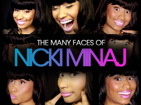 """Nicki Minaj - """"I make the goofy faces because that?s me. I?m different and I?m trying to just show my true personality."""""""