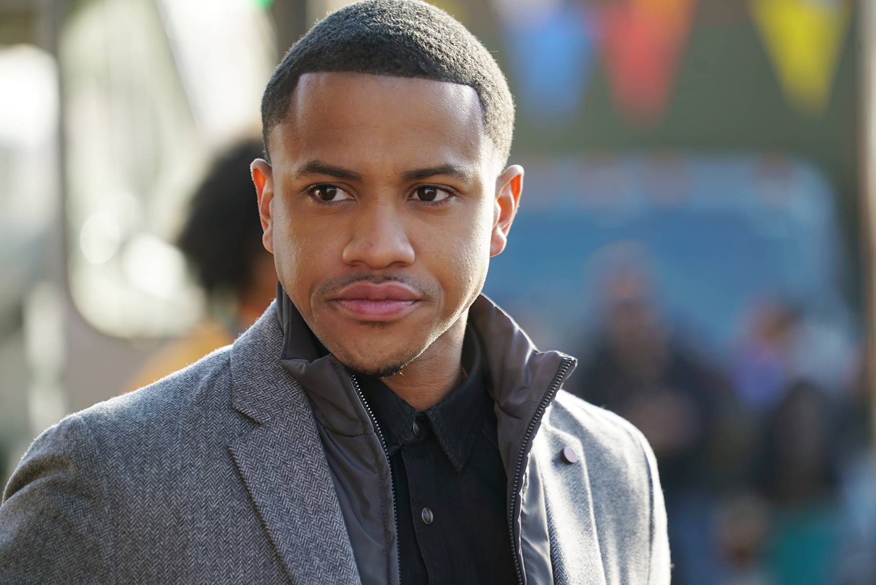 Meet the Cast of Boomerang - Tequan Richmond stars as charming Bryson Broyer.